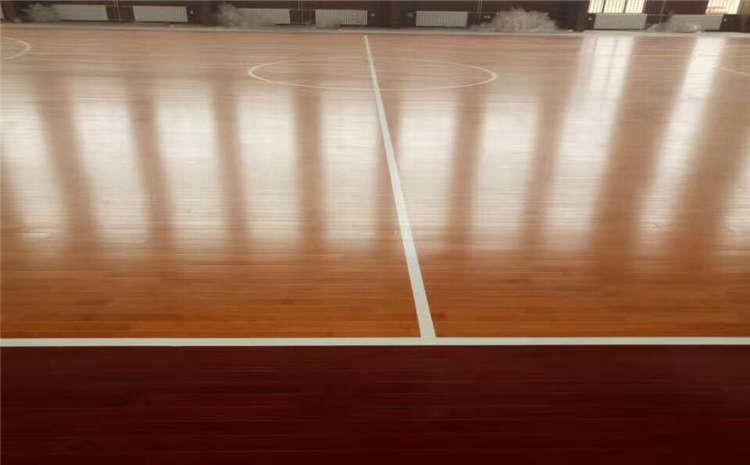 批发篮球运动木地板24厚