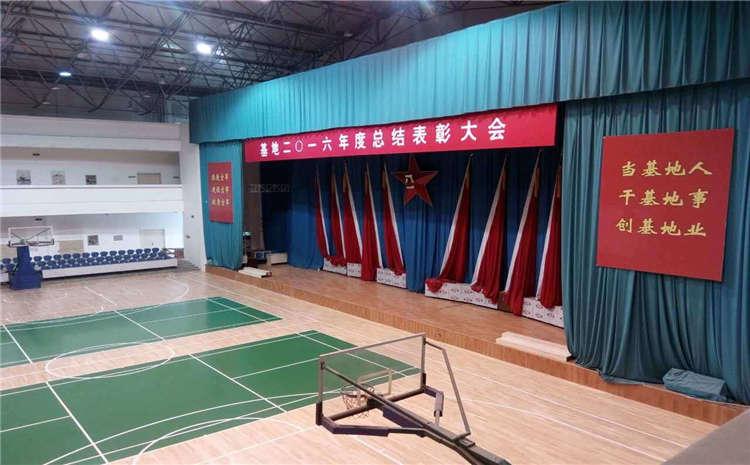 学校实木运动地板生产厂家
