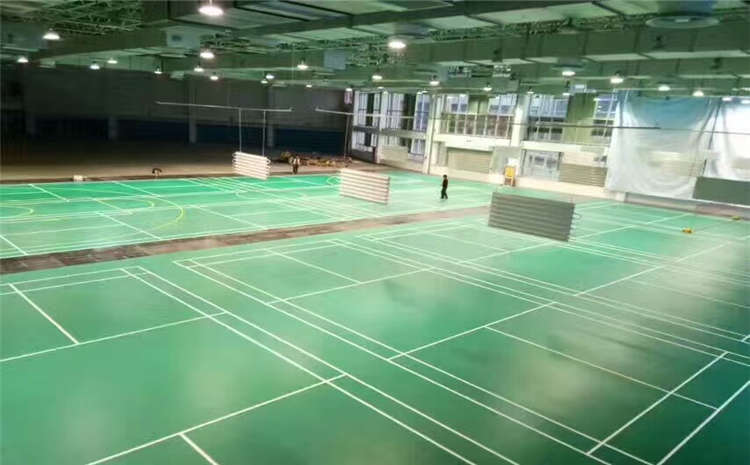 指接板篮球场实木地板单层龙骨结构