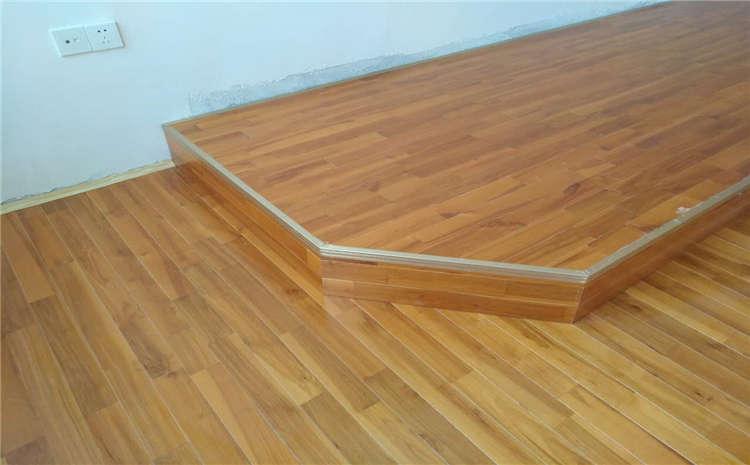 松木舞蹈房木地板施工技术方案
