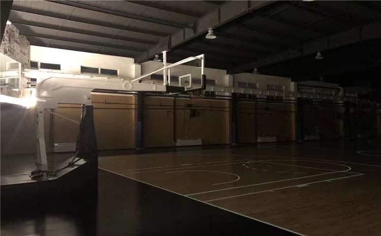 硬木企口篮球场木地板施工技术