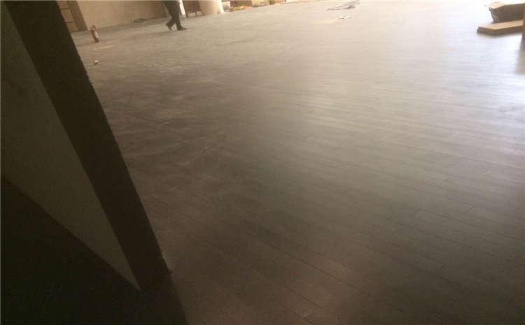 双层龙骨结构排球馆木地板生产厂家