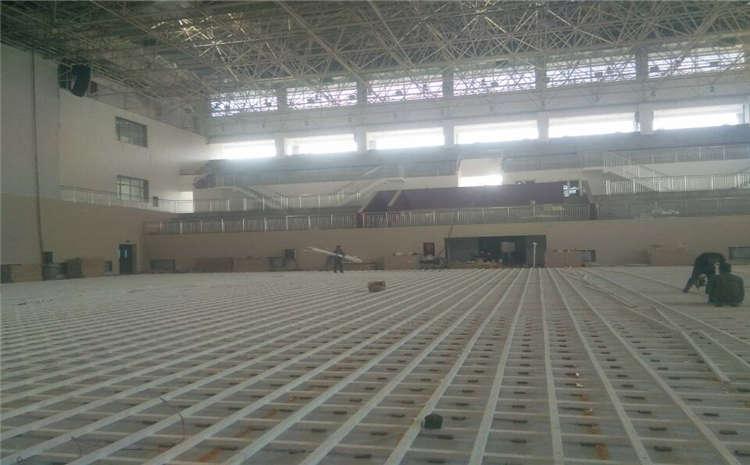 篮球场木地板翻新要做这些事