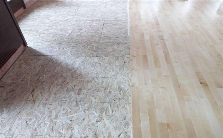橡胶木篮球馆木地板生产厂家