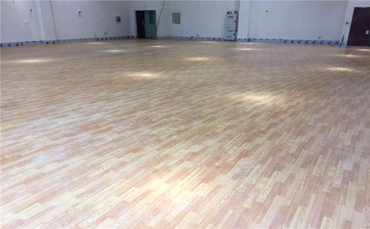 羽毛球馆木地板清洁这么做?