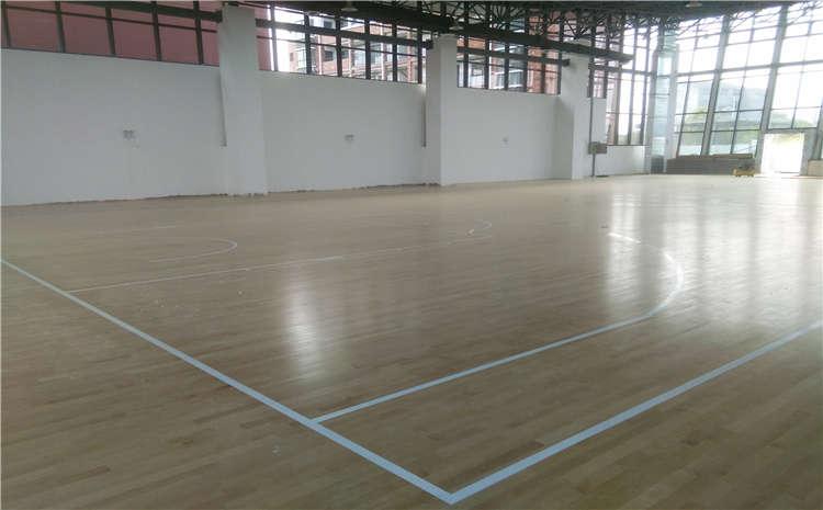单层龙骨结构篮球木地板规格