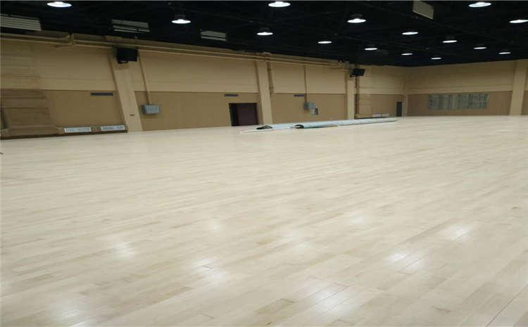 以下篮球场木地板不能翻新