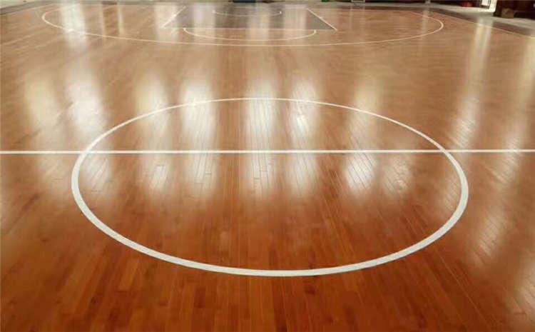 体育木地板翻新流程简介