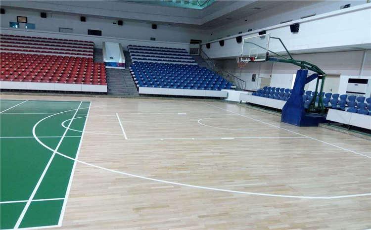 西安体育木地板怎么安装