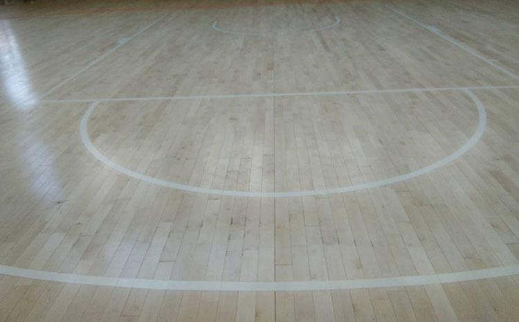常见的篮球场木地板直销