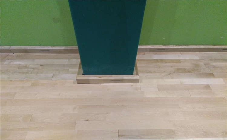 橡胶木体育馆木地板规格