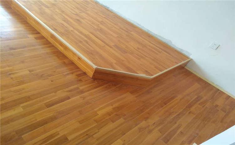 俄勒冈松舞台实木地板施工技术方案