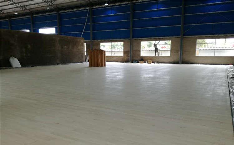 运动木地板面板如何安装?