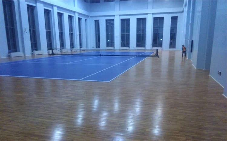 宁夏枫木篮球场地板每平米价格