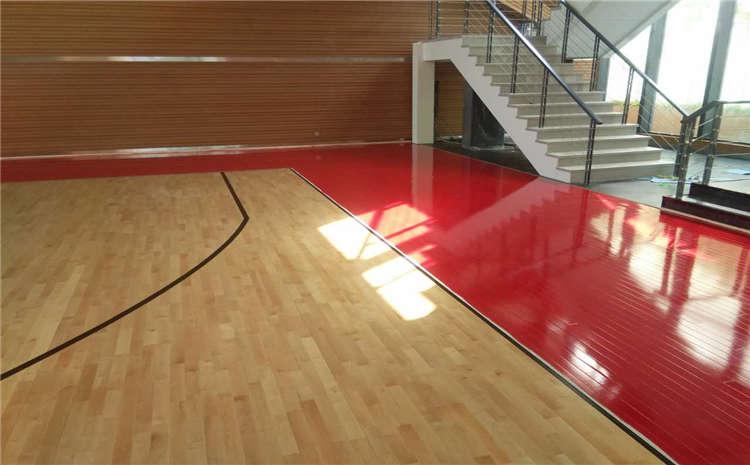 枫木体育运动地板板式龙骨结构