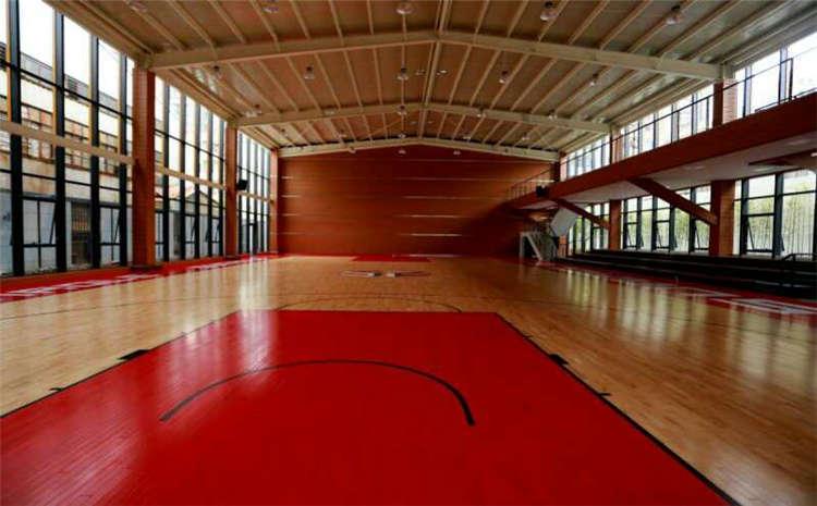 双层龙骨结构篮球木地板规格