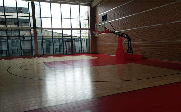 22mm厚排球馆木地板一平米价格