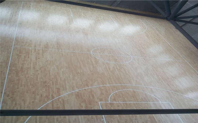 室内篮球馆专用木地板安装指南