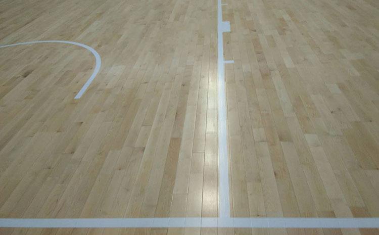 指接板实木运动地板多少钱一平米?