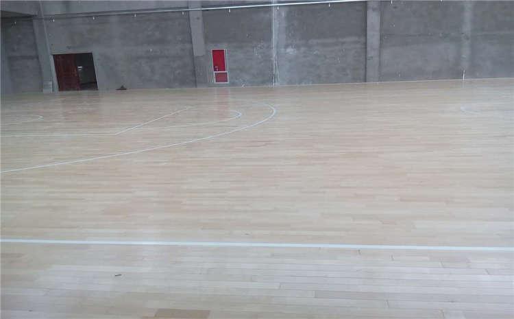 南京硬木企口篮球场地板厂家电话