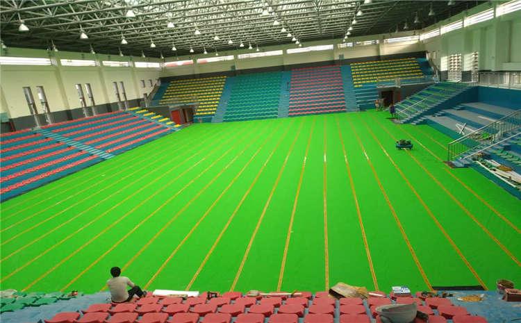 枫桦木篮球场木地板报价