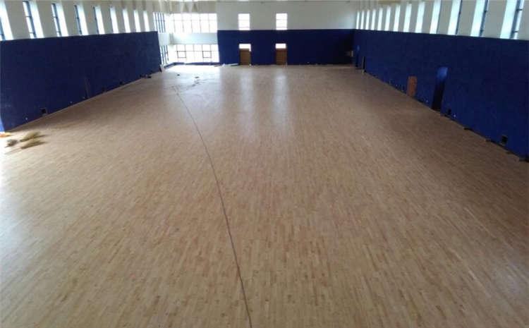 江苏企口篮球场地板结构