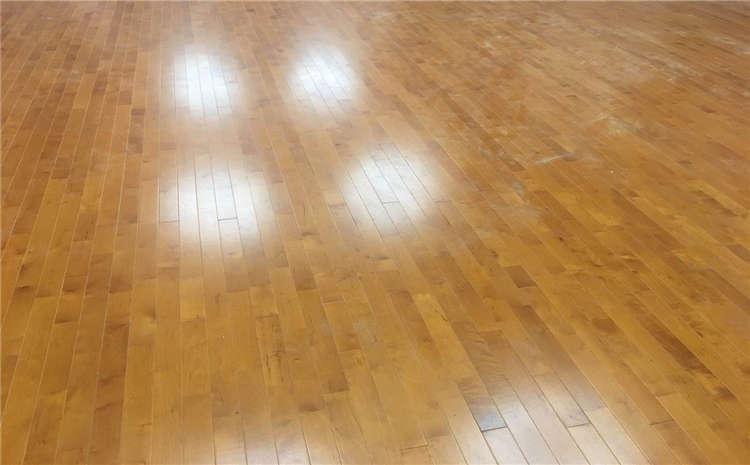 拼装舞台运动地板安装