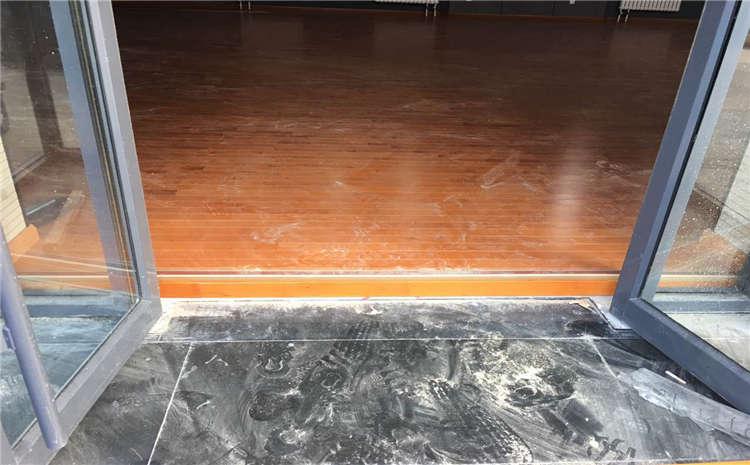 硬木企口体育馆木地板每平米价格