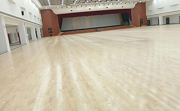 铺装体育木地板您准备好了吗?