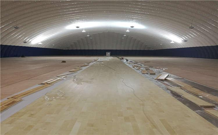 运动木地板安装工艺