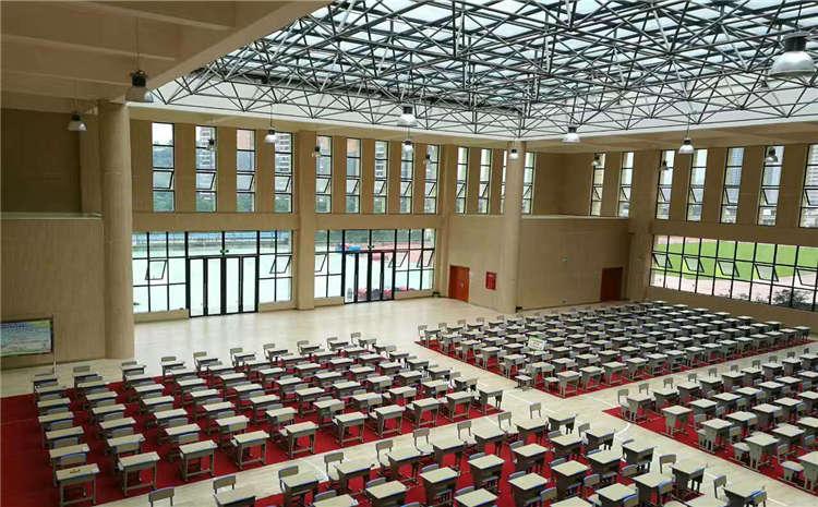 硬木企口乒乓球馆木地板安装工艺