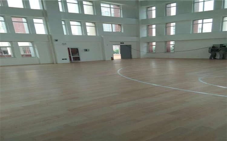 柞木篮球运动地板报价