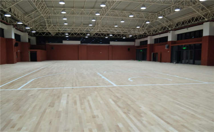 蘭州專業籃球場地板施工技術