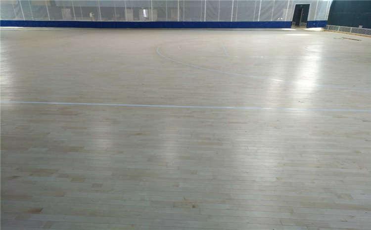 柞木篮球馆木地板生产厂家