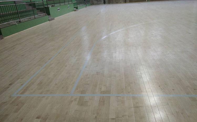 石家庄专业篮球场地板价格