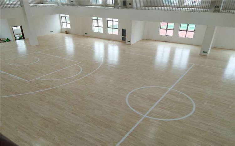 河南柞木篮球场地板厂商