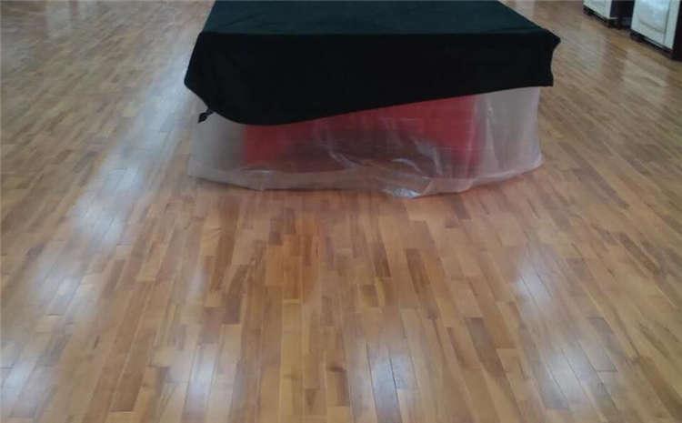 单层龙骨结构体育馆木地板造价
