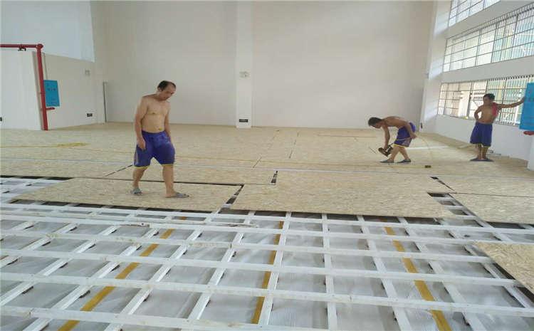 运动木地板密度有什么意义?