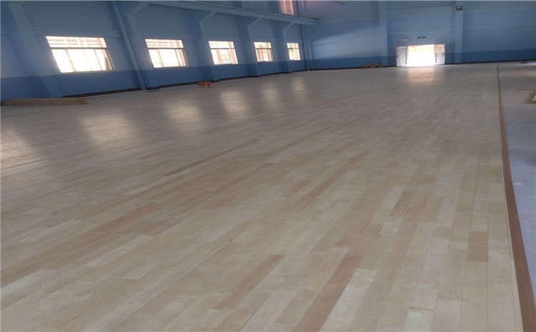 双层龙骨结构篮球木地板报价