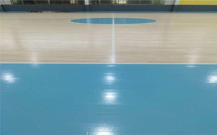 枫木篮球场木地板维护