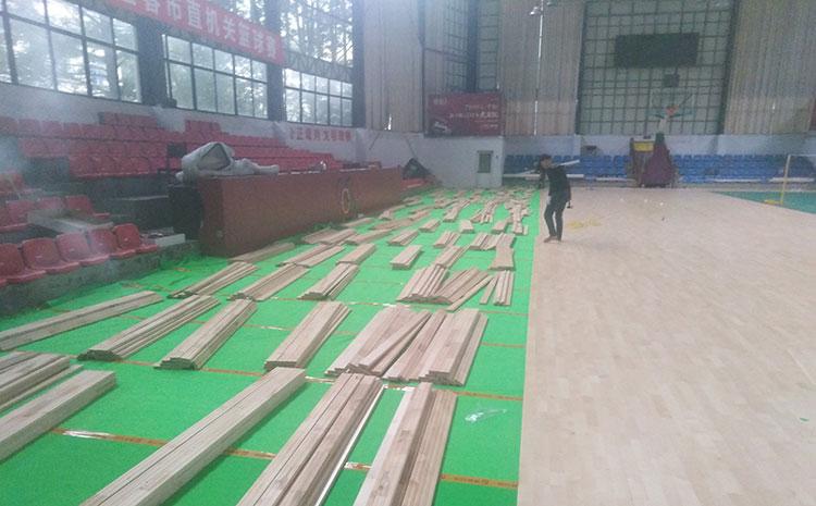 天津专业体育木地板报价