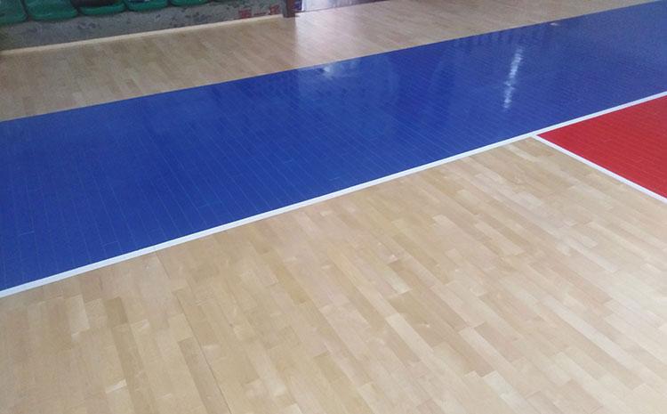 青海枫木篮球场地板品牌