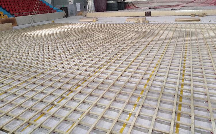 运动木地板龙骨如何铺装?