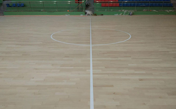 大型舞台木地板打磨翻新