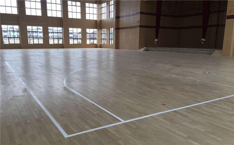 硬木企口排球馆木地板规格