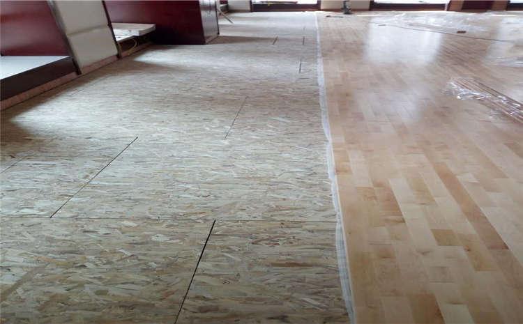 指接板舞台实木地板结构