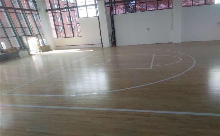 廣東專用籃球場地板怎么安裝
