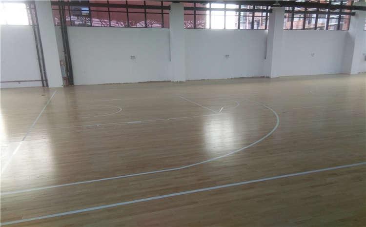 学校排球馆木地板价格