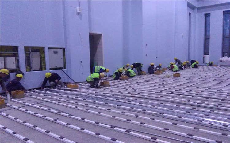 硬木企口篮球场木地板十大品牌