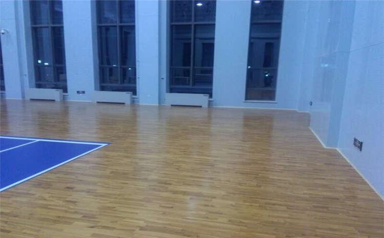 如何保证运动木地板专业质量?